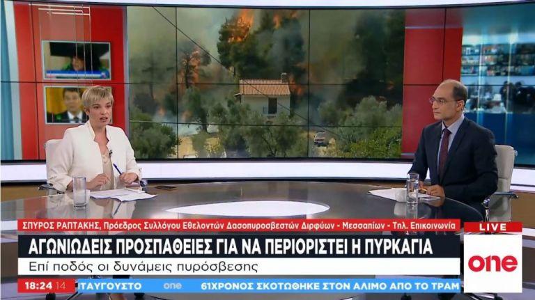 Σπ. Ραπτάκης: Το δάσος θα ξαναγίνει, οι άνθρωποι δεν γίνονται | tanea.gr