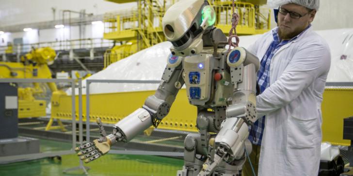 Φιόντορ: Το πρώτο ανθρωποειδές ρομπότ της Ρωσίας πάει στο Διάστημα | tanea.gr