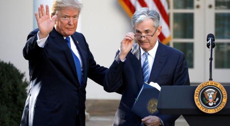 Πάουελ (FED) προς Τραμπ : Η οικονομία των ΗΠΑ αντιμετωπίζει κινδύνους | tanea.gr