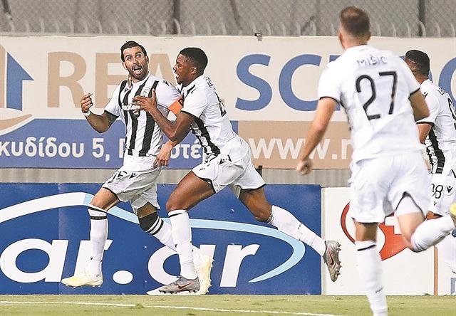 Τριάντα οκτώ παιχνίδια αήττητος ο ΠΑΟΚ | tanea.gr