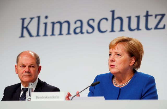 Η Γερμανία παίρνει μέτρα ύψους 55 δισ. ευρώ για το κλίμα | tanea.gr