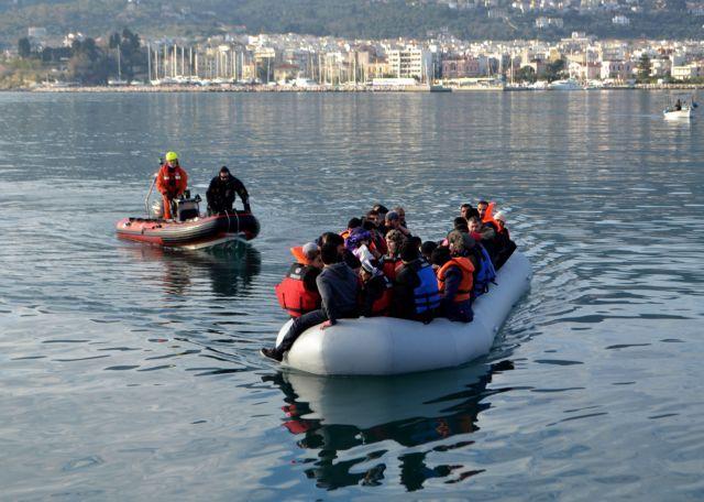 Μυτιλήνη: 300 νέες αφίξεις μεταναστών σε ένα 24ωρο | tanea.gr