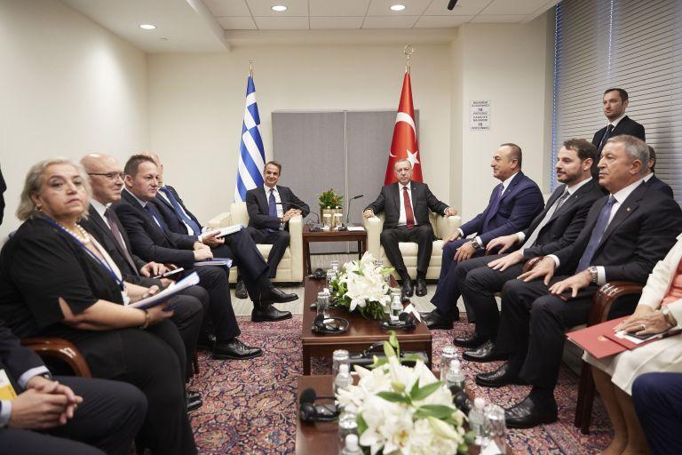 Μητσοτάκης – Ερντογάν: Ολοκληρώθηκε η σύντομη συνάντηση | tanea.gr