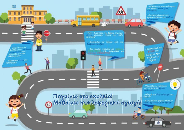 ΕΛ.ΑΣ: Πως το παιδί σας θα πηγαινοέρχεται στο σχολείο με μεγαλύτερη ασφάλεια | tanea.gr