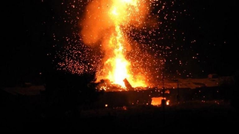 Κατεχόμενα: 12 τραυματίες από εκρήξεις σε αποθήκες πυρομαχικών | tanea.gr