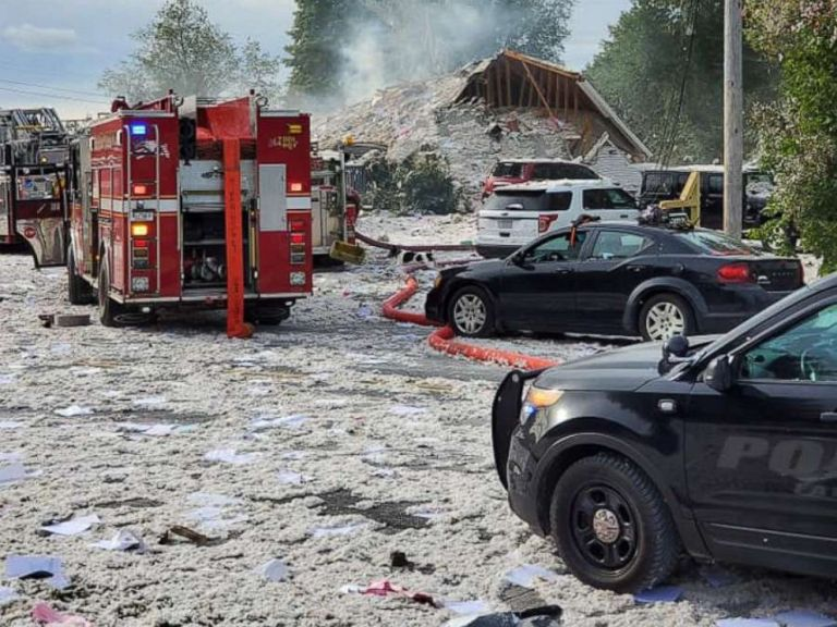 ΗΠΑ: Ισχυρή έκρηξη ισοπέδωσε κέντρο στήριξης ΑΜΕΑ | tanea.gr