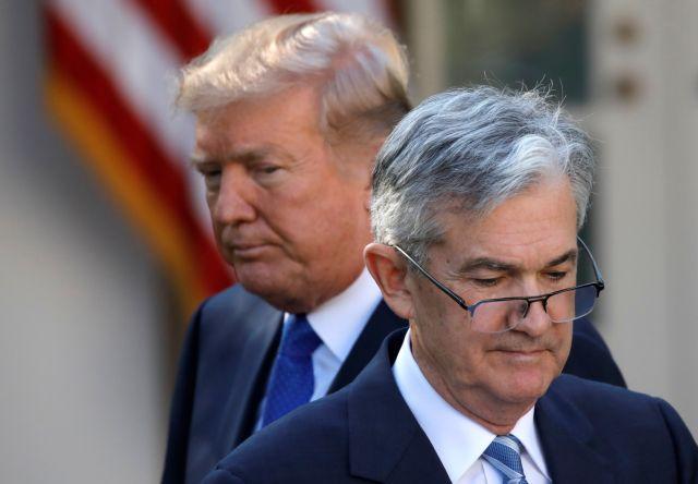 ΗΠΑ: Ο Τραμπ τα ξανάβαλε με την FED εξαιτίας των επιτοκίων | tanea.gr