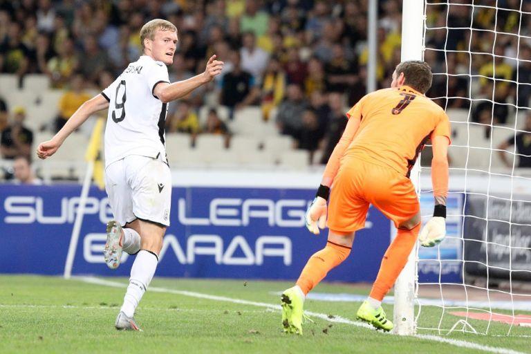 ΑΕΚ-ΠΑΟΚ : Το γκολ του Σβιντέρσκι για το 0-1 (vid) | tanea.gr