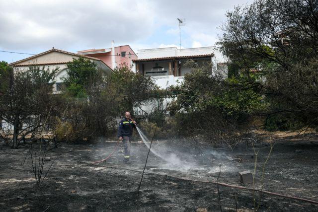 Καταστροφές σε σπίτια από την φωτιά στο Λαγονήσι   tanea.gr