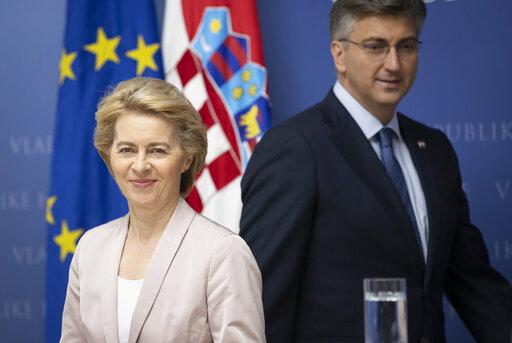 Τους εκπροσώπους των κρατών-μελών παρουσίασε η φον ντερ Λάιεν | tanea.gr