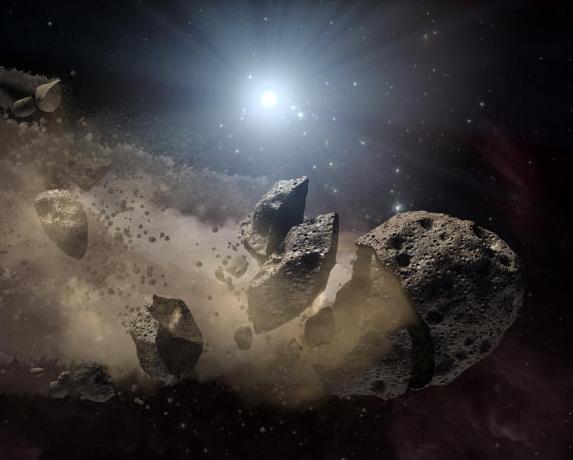 Η συντριβή ενός αστεροειδούς προκάλεσε εποχή παγετώνων στη γη | tanea.gr