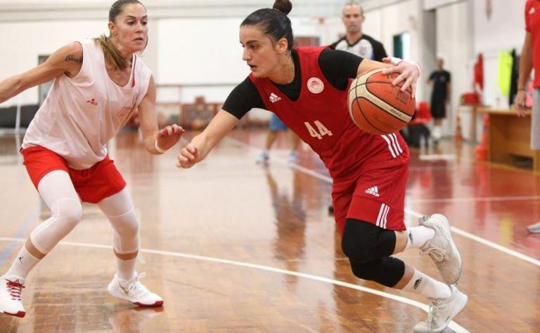 H Media day της ομάδας μπάσκετ γυναικών του Ολυμπιακού | tanea.gr