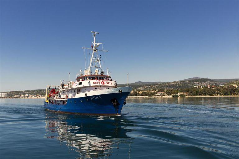 Ανοιχτά του Καστελόριζου το τουρκικό Bilim 2 | tanea.gr
