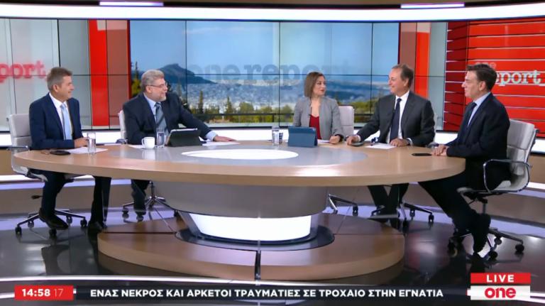 Ανάπτυξη και εργασιακά – Σ. Λιβανός και Θ. Μωραΐτης στο One Channel | tanea.gr