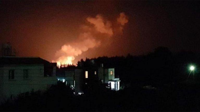 Διαδοχικές εκρήξεις σε αποθήκες πυρομαχικών στα Κατεχόμενα | tanea.gr