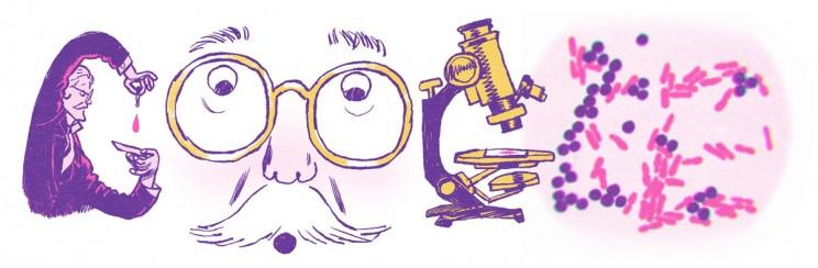 Hans Christian Gram: Το Δανό μικροβιολόγο τιμά το doodle της Google | tanea.gr