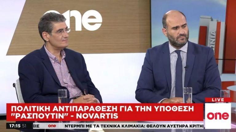 Στο «κόκκινο» η κόντρα για Novartis: Δ. Μαρκόπουλος και Χ. Γιαννούλης στο One Channel | tanea.gr
