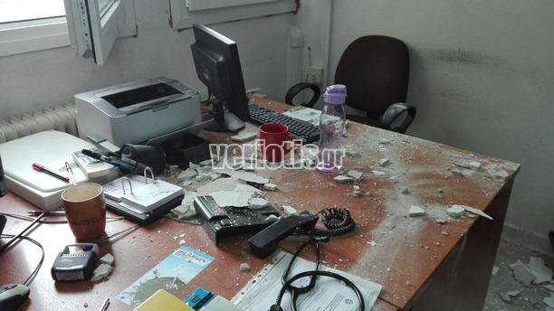 Νοσοκομείο Βέροιας : Επεσαν σοβάδες πάνω σε γιατρούς | tanea.gr