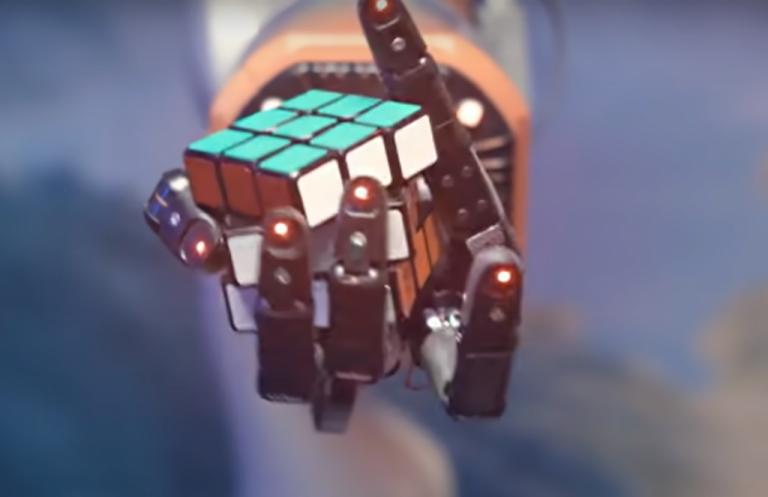 Το ρομπότ που λύνει τον κύβο του Ρούμπικ σε 4 λεπτά... με το ένα χέρι | tanea.gr