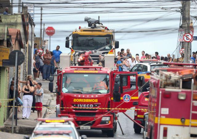 Βραζιλία : Τρεις νεκροί από συντριβή αεροσκάφους | tanea.gr