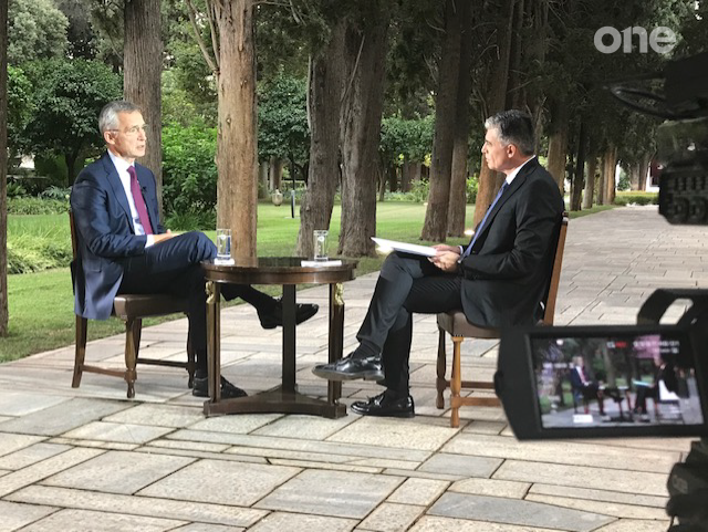 Αποκλειστική συνέντευξη του ΓΓ του ΝΑΤΟ στο One Channel: «Ελπίζω η Τουρκία να δείξει αυτοσυγκράτηση» | tanea.gr