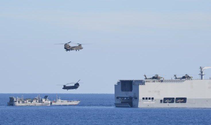 «ΜΕΔΟΥΣΑ 9» : Αεροναυτική άσκηση Ελλάδας, Κύπρου και Αιγύπτου | tanea.gr
