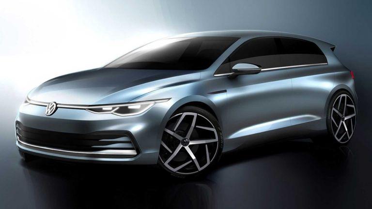 VW Golf: Πρώτα σκίτσα από τη νέα γενιά του γερμανικού μοντέλου | tanea.gr