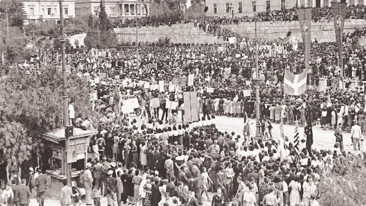 Η απελευθέρωση της Αθήνας στις 12 Οκτωβρίου 1944   tanea.gr