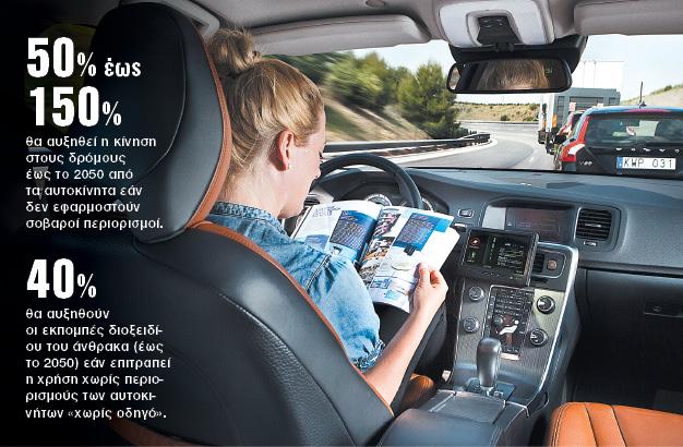 Μελέτη - σοκ για τα αυτοκίνητα χωρίς οδηγό | tanea.gr