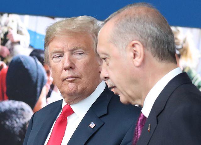 Ερντογάν : Η επιστολή Τραμπ κατέληξε στα σκουπίδια | tanea.gr