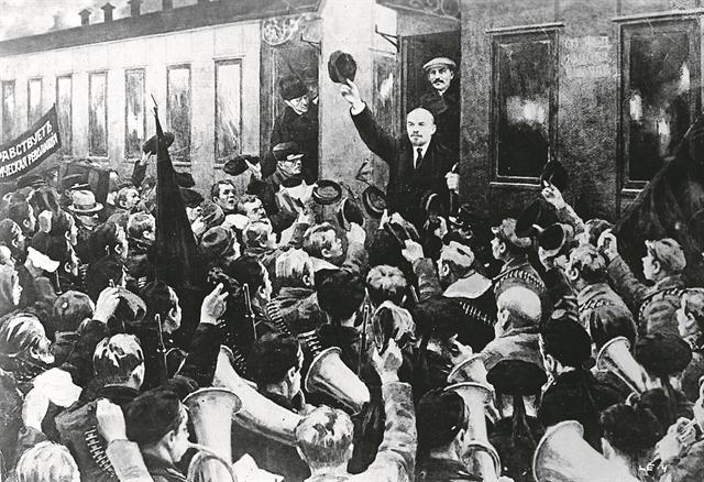 Στα ίχνη του Λένιν   tanea.gr
