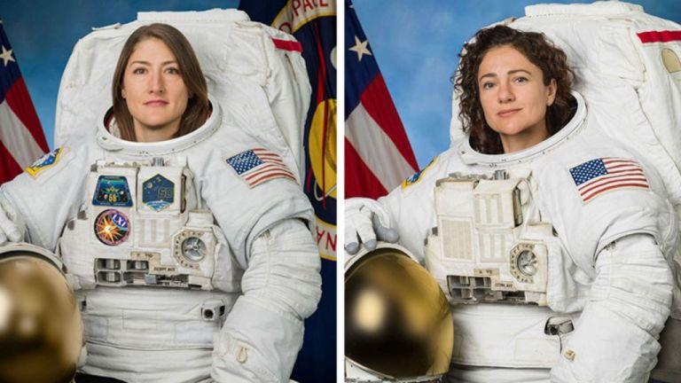Γυναικείος διαστημικός περίπατος : «Είμαστε περήφανοι για σας» δήλωσε ο Τραμπ | tanea.gr