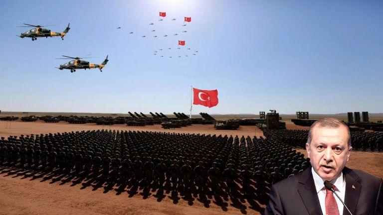 Διεθνής ταραξίας : Στέλνει πολεμικά πλοία στο Αιγαίο, ετοιμάζεται να επιτεθεί στους Κούρδους | tanea.gr