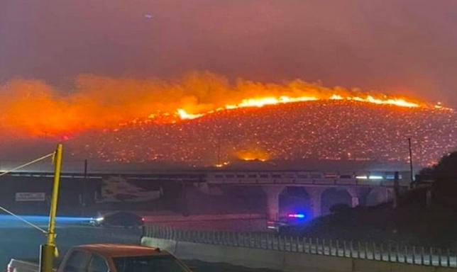 Μεξικό : Τρεις νεκροί από τις πυρκαγιές κοντά στα σύνορα με τις ΗΠΑ | tanea.gr
