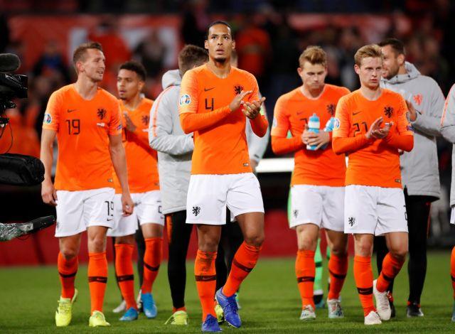 Προκριματικά Euro 2020: Ανατροπή η Ολλανδία, σάρωσε το Βέλγιο | tanea.gr