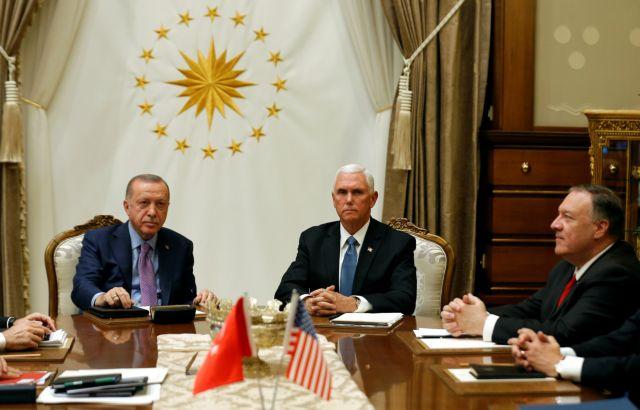 Συρία : Ο Ερντογάν συμφώνησε σε προσωρινή κατάπαυση πυρός | tanea.gr