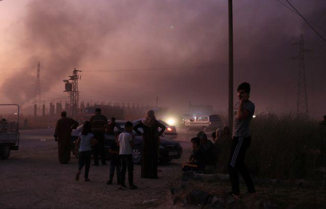 Σπέρνει τον θάνατο ο Ερντογάν στη Συρία : Φωτιά σε γη και ουρανό | tanea.gr