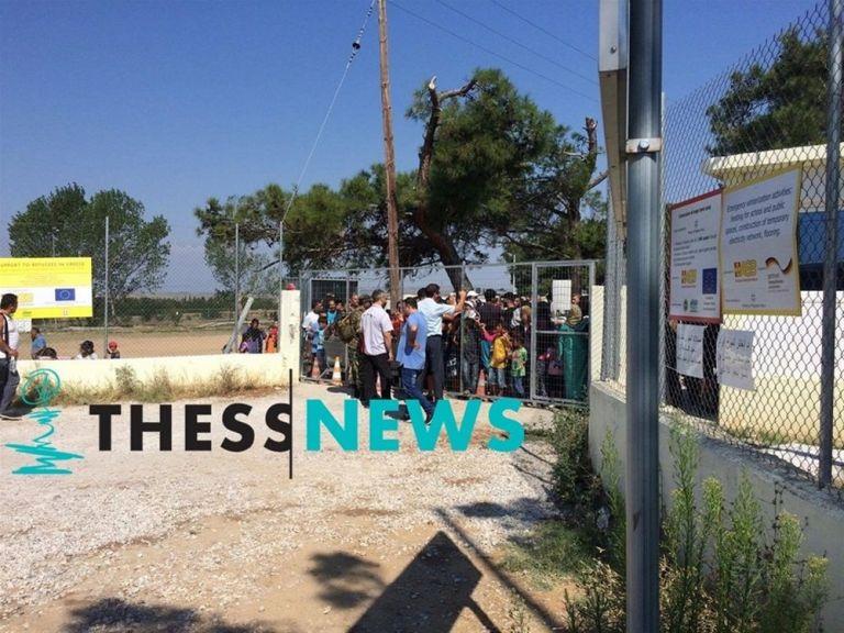 Διαβατά : Συμπλοκή στο κέντρο φιλοξενίας προσφύγων | tanea.gr