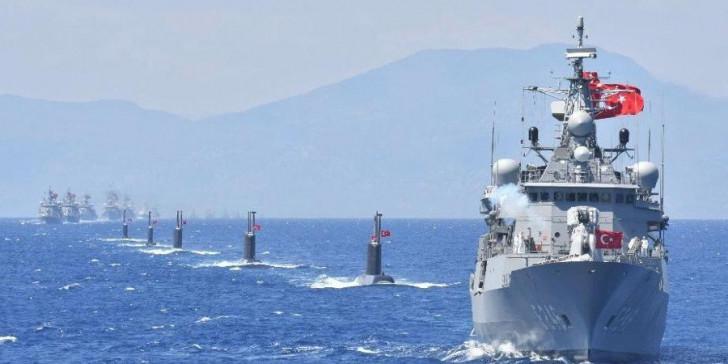 Τουρκία : Αποκόπτει για ασκήσεις Αιγαίο και Αν. Μεσόγειο | tanea.gr