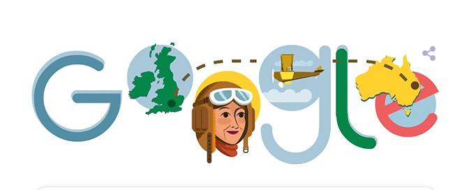 Maude Lores Bonney : Η Google τιμά με doodle την πρώτη γυναίκα πιλότο | tanea.gr