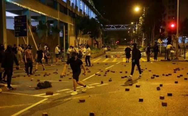 Συνεχίζονται τα αιματηρά επεισόδια στο Χονγκ Κονγκ   tanea.gr