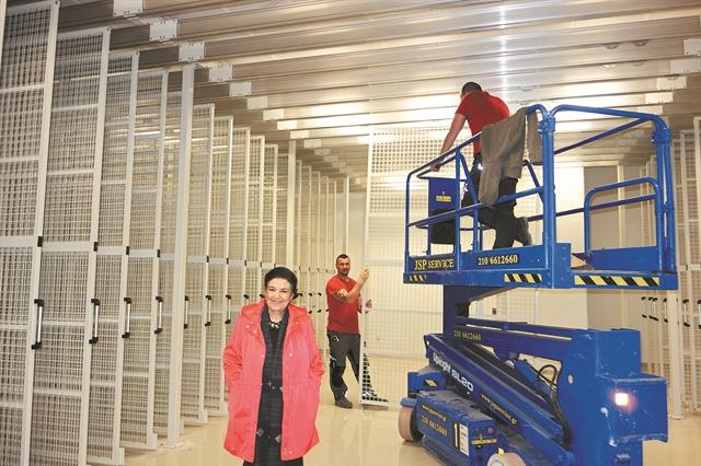 Ετοιμο το 80% στο εργοτάξιο της Εθνικής Πινακοθήκης | tanea.gr