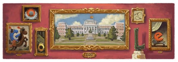 Google Doodle : Τιμά τη 200ή επέτειο του Μουσείου Ντελ Πράδο | tanea.gr