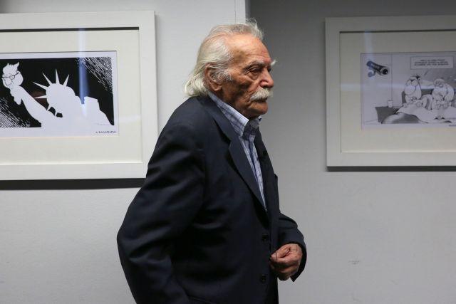 Προκόπης Παυλόπουλος : Επισκέφθηκε τον Μανώλη Γλέζο   tanea.gr