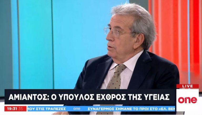 Ο Παναγιώτης Μπεχράκης για τον αμίαντο: Ο ύπουλος εχθρός της υγείας   tanea.gr