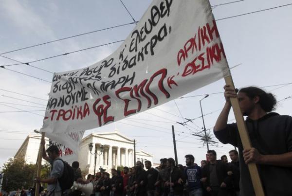 Ξανά στους δρόμους οι φοιτητές για το άσυλο : Νέο συλλαλητήριο στα Προπύλαια | tanea.gr