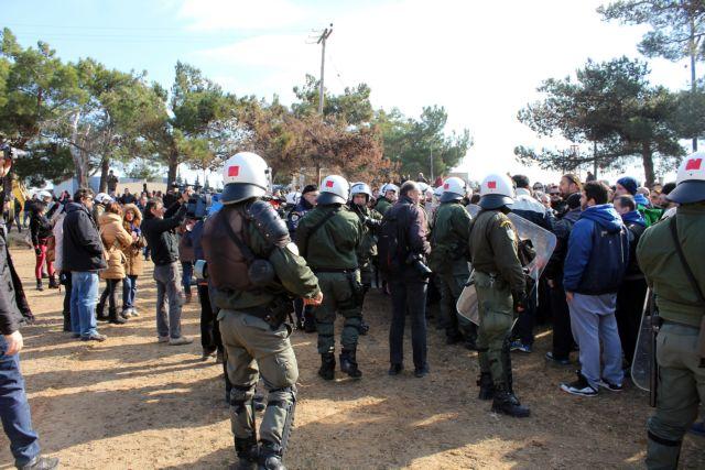 Διαβατά : Μεγάλη αστυνομική επιχείρηση μετά τα αιματηρά επεισόδια | tanea.gr