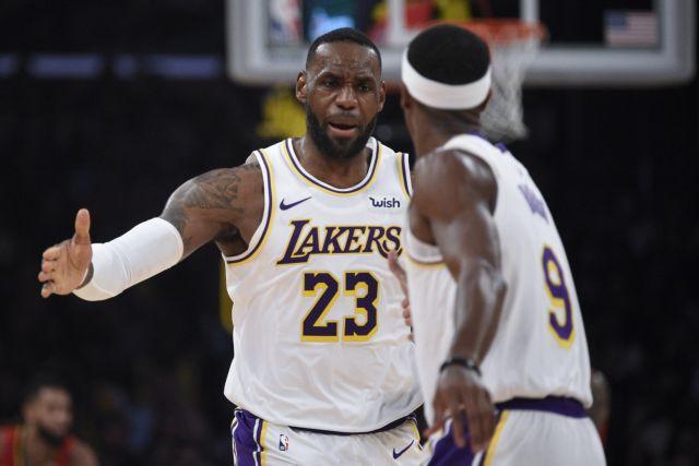 NBA : Συνέτριψαν τους Χοκς οι Λέικερς | tanea.gr