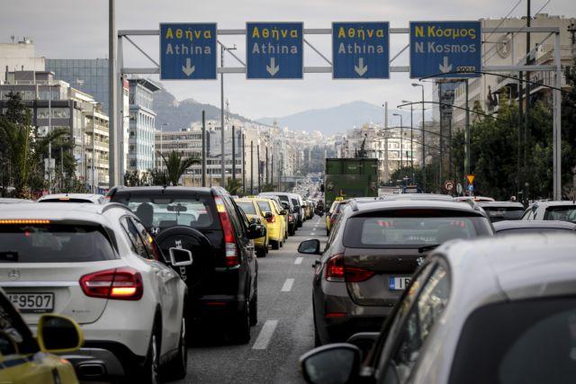Μεγάλο μποτιλιάρισμα στους δρόμους της Αθήνας, λόγω της κακοκαιρίας | tanea.gr