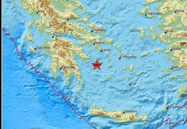 Σεισμός κοντά στην Ύδρα - Αισθητός και στην Αθήνα | tanea.gr